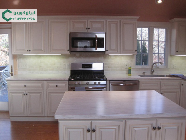 کابینت آشپزخانه کورین،صفحه کابینت کورین