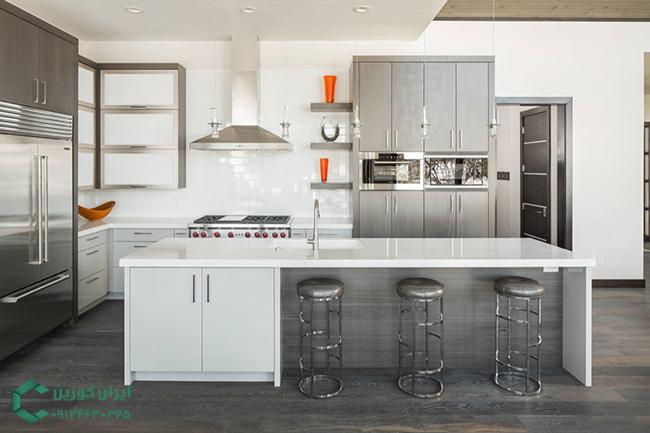 صفحه کابینت کورین،دکوراسیون آشپزخانه