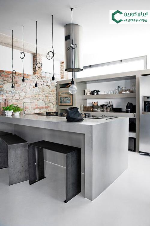 صفحه کورین خاکستری،جزیره آشپزخانه