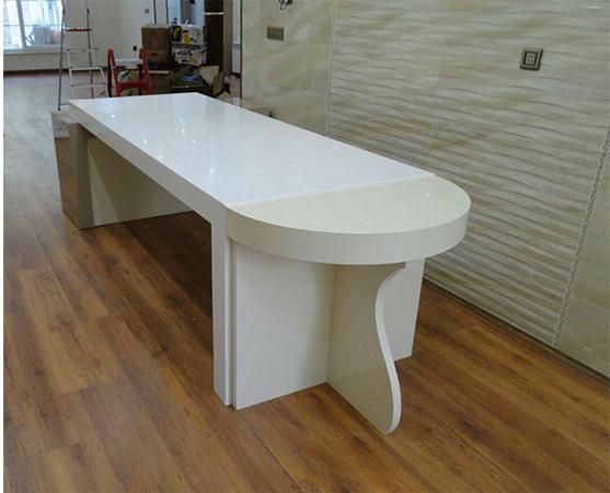 کورین اورانوس سفید برای صفحه کابینت و کانتر