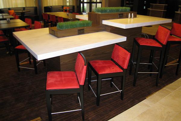 میز رستوران صفحه کورین