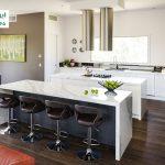 سنگ مصنوعی کوارتز سفید رگه دار برای کانتر آشپزخانه
