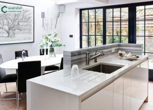 سنگ صفحه کابینت آشپزخانه